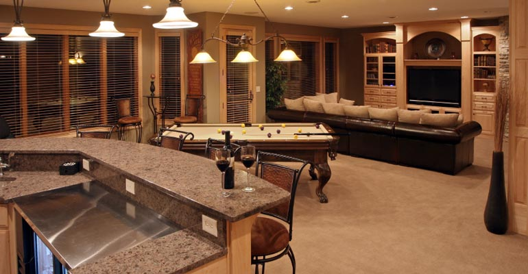 Why Basement Remodeling Adds Value to Your Home Grand Rapids, MI