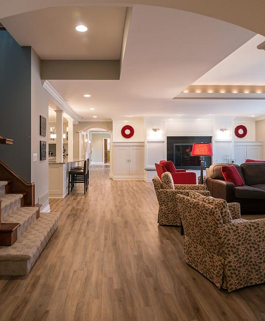 Basement Finishing Contractors Hudsonville