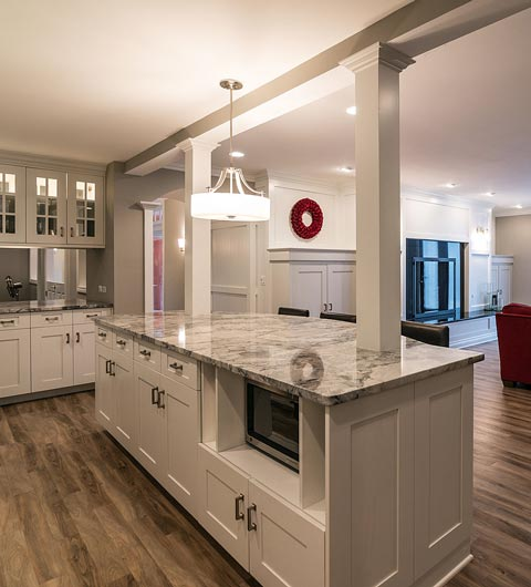 Basement Kitchen Remodeling Caledonia