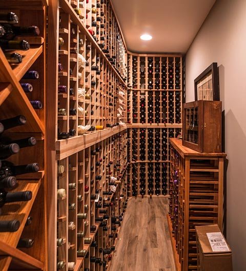 Wine Cellar Renovation East Grand Rapids