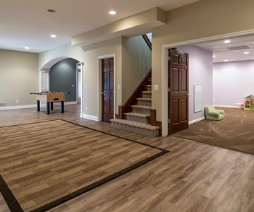 Basement Finishing Contractors Ada