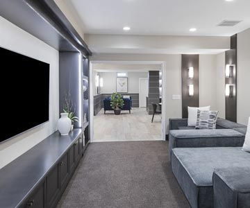 Theatre Media Room Remodeling Kentwood